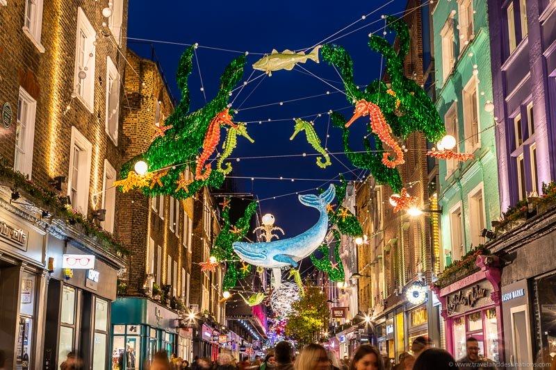 Celebrating Christmas and sustainability in Soho…