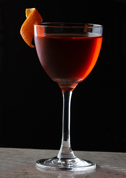 The King of Soho Gin - Classic Negroni Cocktail