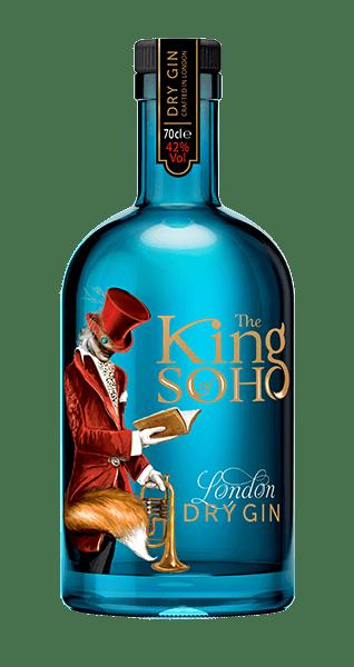 Джин «King of Soho Dry London Gin»