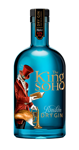 El Rey de Soho Ginebra Seca de Londres